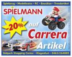 Spielmann Spielmann - 20% auf Carrera Artikel - bis 13.04.2019
