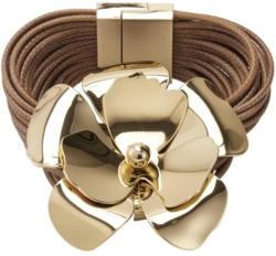 Heine Armband mit goldener opulenter Blütenapplikation