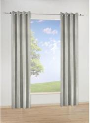 Ösen-Dekoschal London, taupe, ca. 135 x 245 cm