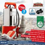 NORMA Mauk Schmutzwasser-Tauchpumpe INOX 1.100 Watt