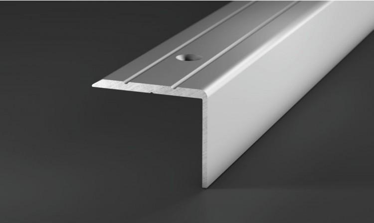 Winkelprofil, Aluminium, Silber, ca. 100 cm