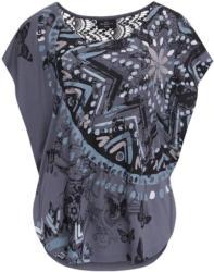 Damen Cape-Shirt mit Makramee-Spitze