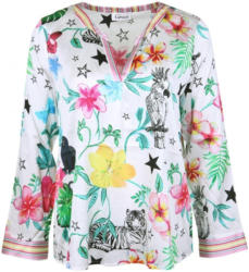Seidenbluse ´JUNGLE´