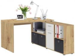Schreibtisch Artisan-Eiche-Nachbildung