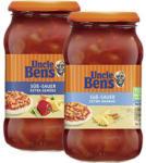 real Uncle Ben's Sauce versch. Sorten,  jedes 400-g-Glas - bis 19.10.2019