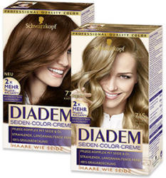 Diadem Seiden-Color-Creme versch. Farben jede Packung