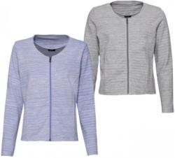 Damen-Jacke mit dezentem Streifenmuster