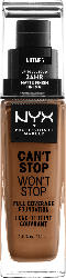 NYX PROFESSIONAL MAKEUP Make-up Can't Stop Won't Stop 24-Hour Foundation nutmeg 16.5