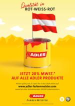 ADLER - Jetzt 20% MWST. auf alle Produkte