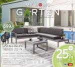 XXXLutz MY HOME GARTEN - bis 16.09.2019