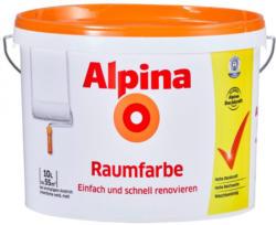 Alpina Raumfarbe weiß10 Liter