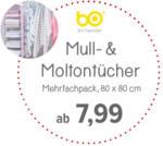 BabyOne Mull- & Moltontücher ab 7,99 - bis 31.03.2020