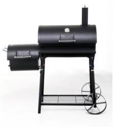 Tepro Smoker Biloxi, mit seitlicher Brennkammer