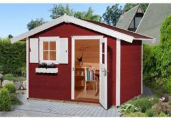 Weka Gartenhaus 123 Gr.3 schwedenrot