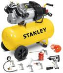 HELLWEG Baumarkt Stanley Druckluft-Kompressor DV2 400/10/50+KIT