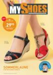 MyShoes EKZ Donaupark MyShoes Flugblatt - April/Mai - bis 12.05.2019