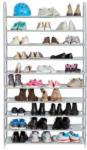 HELLWEG Baumarkt XXXL Schuhregal mit 10 Ablageböden, variabel steckfertig