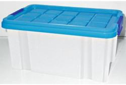 Eurobox Klein mit Deckel, 33x22x16 cm