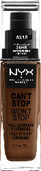 NYX PROFESSIONAL MAKEUP Make-up Can't Stop Won't Stop 24-Hour Foundation walnut 22.3