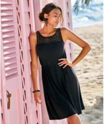 Damen-Kleid mit traumhaftem Spitzeneinsatz