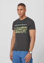 s.Oliver Slim: T-Shirt mit Frontprint