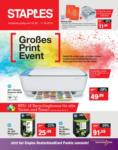 Staples Großes Print Event - bis 11.05.2019