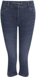 3/4 Damen Slim-Jeans in Capri-Länge