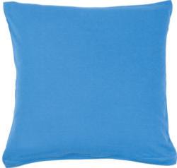 Kissenbezug Jersey blau 80 x 80 cm