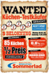 Möbelstadt Sommerlad WANTED Küchen-Testkäufer - bis 11.05.2019