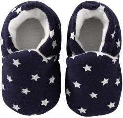Baby-Schühchen mit Sternenmuster