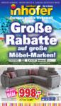 Möbel Inhofer Große Rabatte auf große Möbel-Marken! - bis 25.05.2019