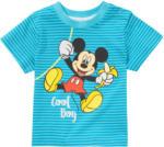 Ernsting's family Micky Maus T-Shirt mit Schulterknöpfung