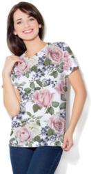 Colour Pleasure T-Shirt mit tollem Allover-Print