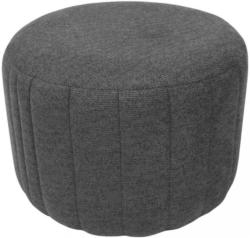 Hocker In Textil Grau
