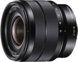 Sony Objektiv »E-Mount APS-C Zoomobjektiv 10-18mm F4.0«