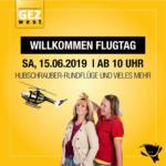 GEZ west GEZ - Willkommen Flugtag - bis 15.06.2019