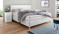 Collection AB Boxspringbett inkl. LED-Beleuchtung, Topper und Kissen