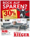 Möbel Rieger 30% Aktionsrabatt - bis 18.05.2019