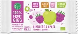 100% Fruit Gigg: Himbeere & Apfel