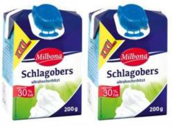 MILBONA Haltbarer Schlagobers 2x 200 g
