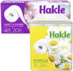 real Hakle Toilettenpapier versch. Sorten, jede 20/24er-Packung - bis 17.08.2019