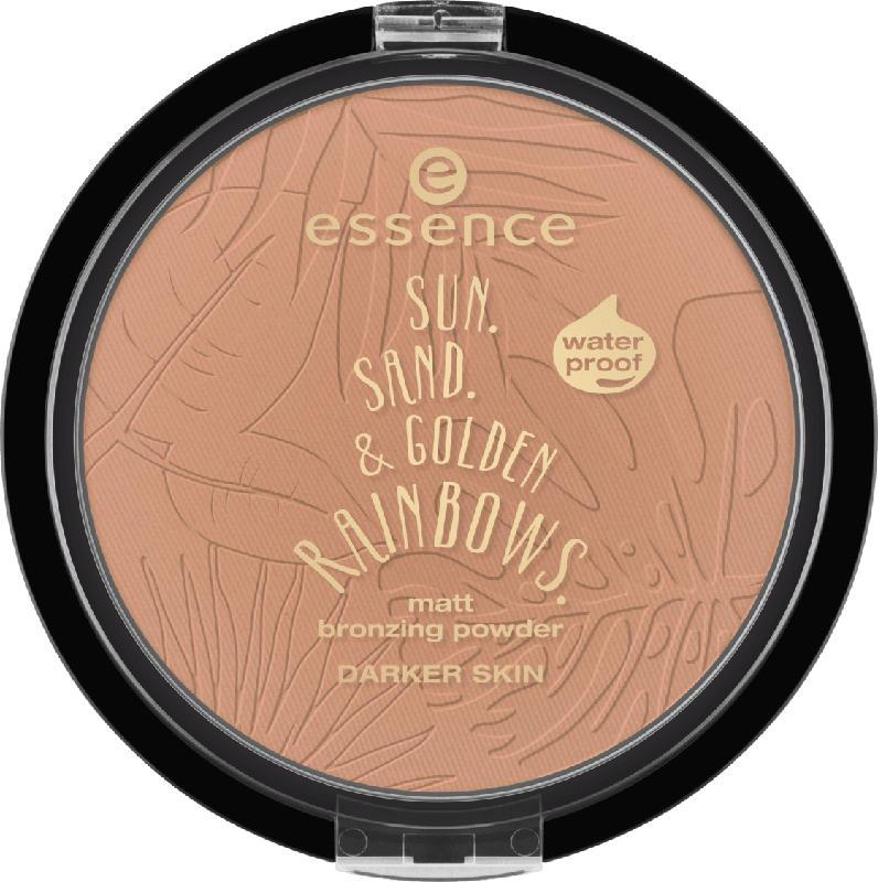 essence cosmetics Bronzer matt bronzing powder waterproof darker skin 02