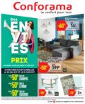 Conforama Des envies plein les prix - au 10.06.2019