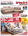 Opti Wohnwelt Optimale Qualität - bis 08.06.2019