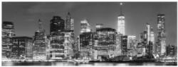 Glasgarderobe Motiv Skyline