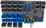 Möbelix Werkzeugwand Kinzo Blau, Grau