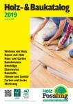 Holz Possling Holz- & Baukatalog - bis 31.07.2019