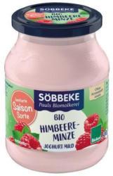 Saisonjoghurt Himbeere Minze