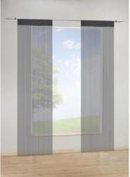 Fadenvorhang, schwarz, ca. 90 x 245 cm