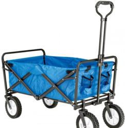 Haveson Bollerwagen faltbar, blau